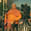 Swami Kriyananda being recorded