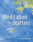 meditation for starters book