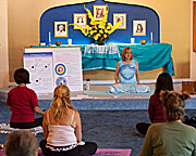 Morning Yoga at The Expanding Light Retreat