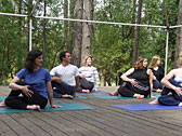 Group Yoga Outdoors