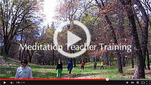Meditation Teacher Training Video
