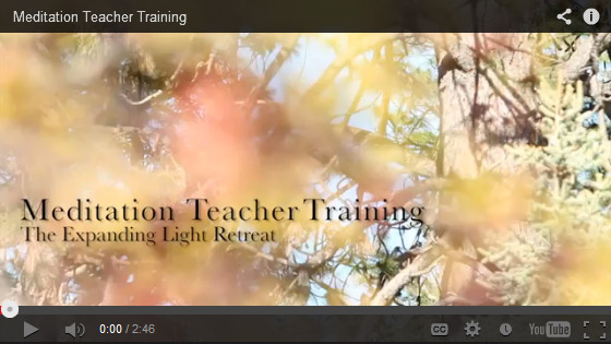 Ananda Teacher Training Meditation