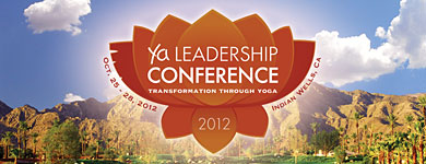Yoga Alliance Leadership Conference banner