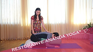 ARestorative Yoga video with Melody Hansen