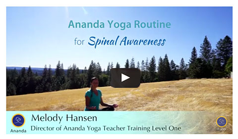Ananda Yoga Routine for Spiritual Awareness