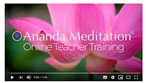 Online Meditation Teacher Training video with Gyandev McCord