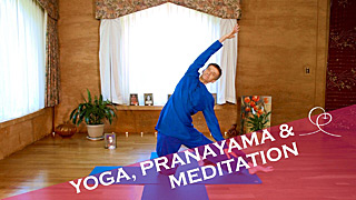 Yoga, Pranayama and Meditation Video with Gyandev McCord