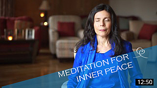 Guided meditation video for Inner Peace with Diksha McCord