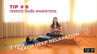 Experience DEEP Relaxation video video with Melody Hansen