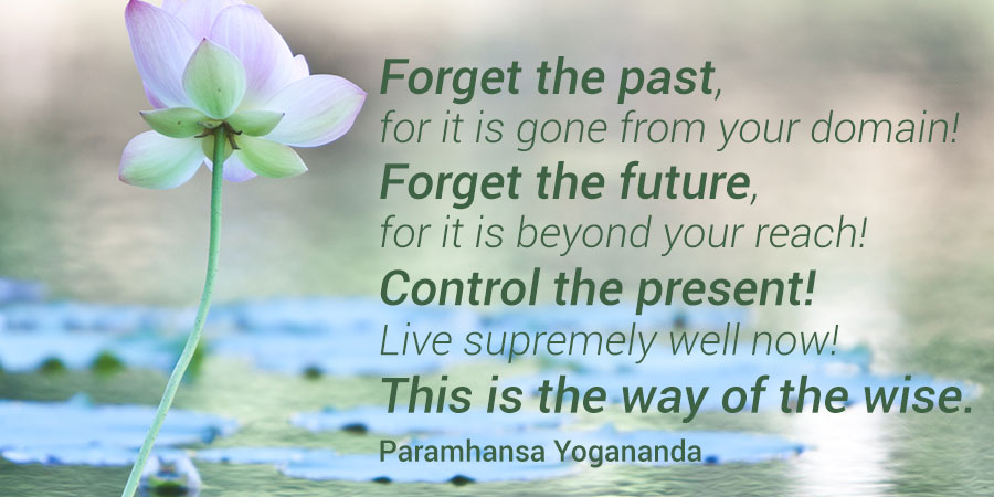 Inspiration Quote - Forget the past...