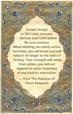 The Rubaiyat of Omar Khayyam's book used at The Expanding Light Retreat