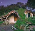 a round cob house