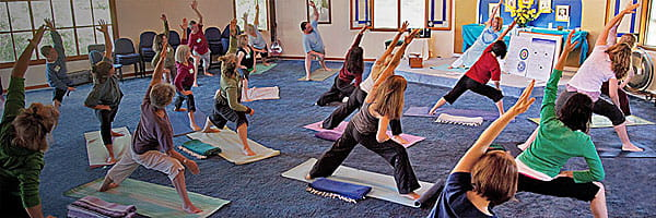 Ananda Yoga Teacher Training class