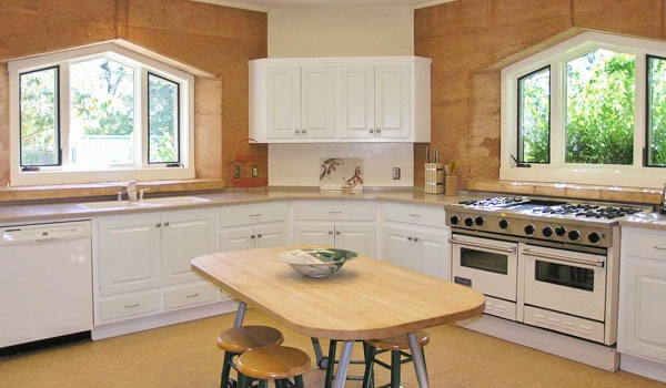 Gaia House Retreat kitchen