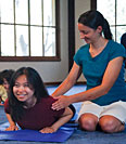Melody Hansen yoga teacher at The Expanding Light Retreat