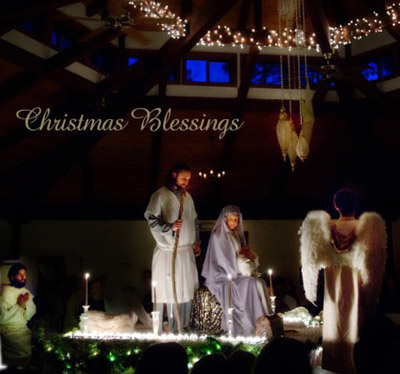 Christmas Festivities at The Expanding Light Retreat