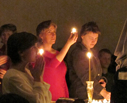 Christmas Candelight Meditation at The Expanding Light Retreat