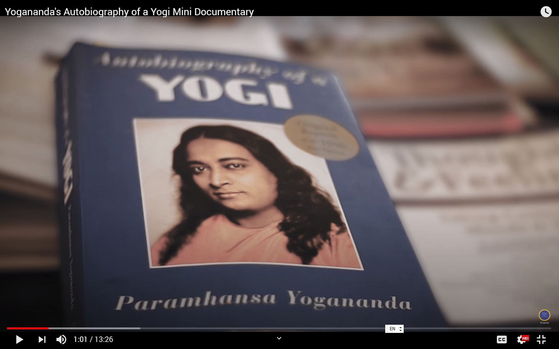 Autobiography Of A Yogi-mini-documentary video