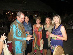 Group ayurvedic dinner in Kerala