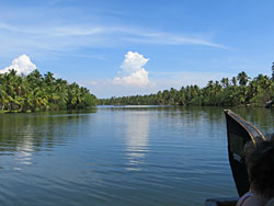 Houseboat trip in Kerala
