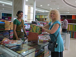 Shopping excursion in Kerala