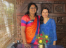 Diksha-with-Dr.Shreelath in Kerala