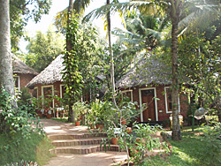 Round cottages await you in Kerala, India
