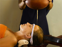 Shirodhara-one ayurvedic treatment to calm the mind