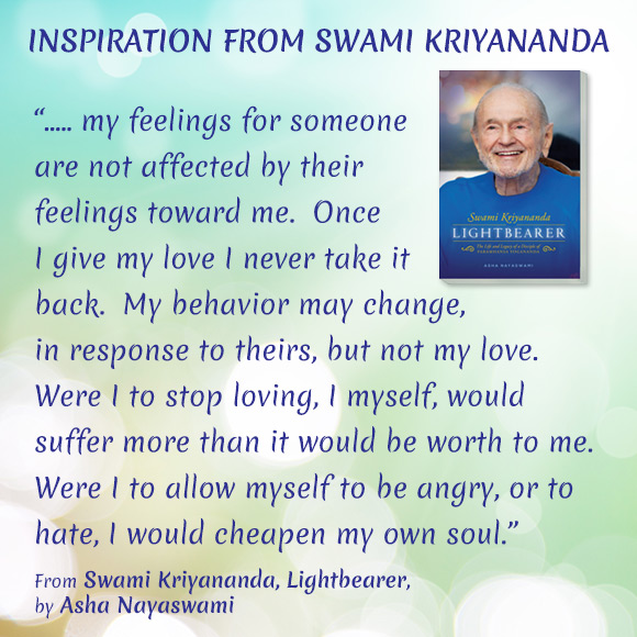 Quote from Swami Kriyananda