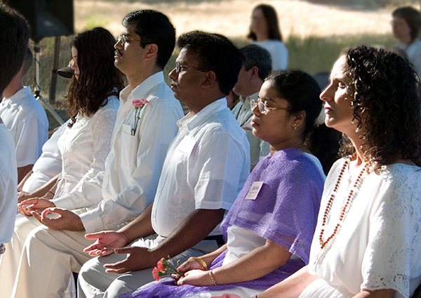 Kriya Yoga Vows Ceremony at The Expanding Light Retreat