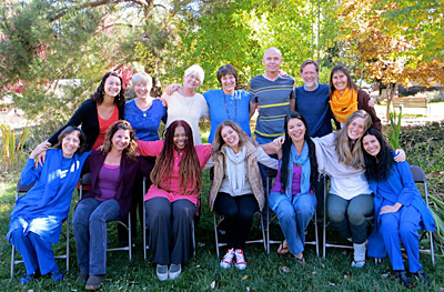 meditation teacher training graduates and teachers