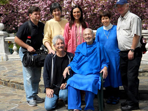 Filming group for the Ananda Movie