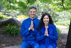 Gyandev and Diksha meditation instructors