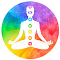 Colorful Chakras Gaphic