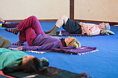 Yoga Class at The Expanding Light Retreat
