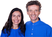 Gyandev and Diksha McCord, teachers at The Expanding Light Retreat