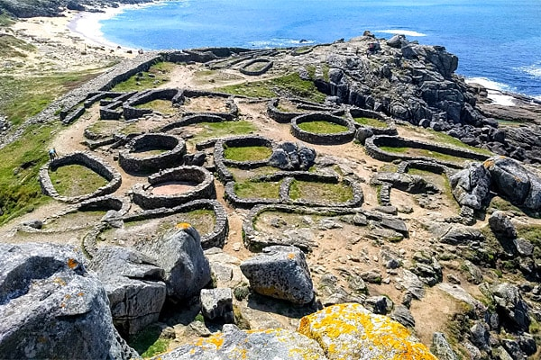 Castro-de-Baroña, Camino Pilgrimage with Ananda Travels