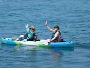 kayakers in Hawaii
