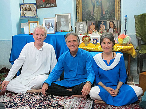 India Pilgrimage trip leaders- Kesheva, Krishnadas and Mantradevi