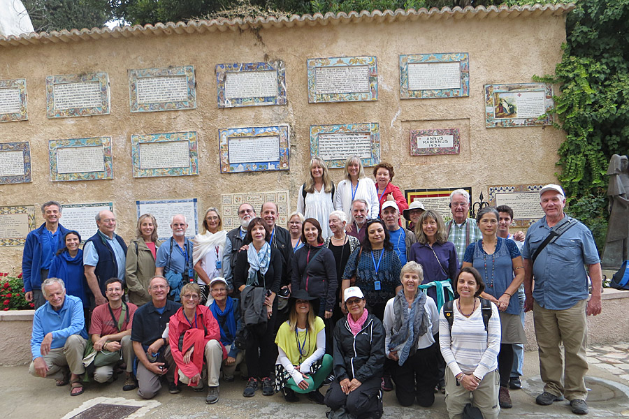 The Israel Pilgrimage Group with The Expanding Light Retreat, Ananda Travels