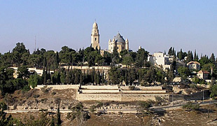 Mount Zion and Dormition Abbey