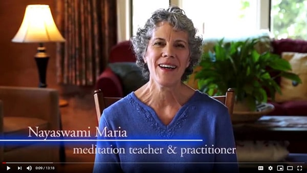 Learn to meditate video with Maria