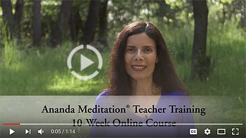 Ananda Online Meditation Teacher Training Intro Video