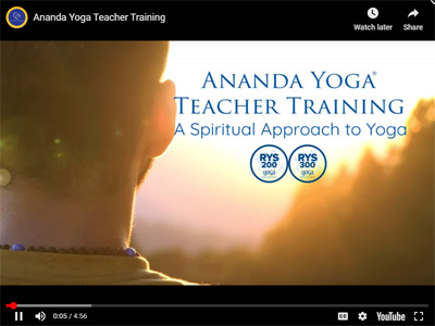Yoga Teacher Training Video