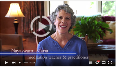 Nyaswami Maria - How to meditate