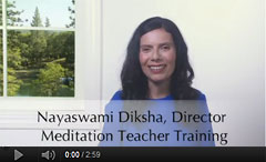 Meditation Teacher Training You-Tube Video