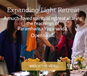 The Expanding Light Retreat, A much-loved spiritual retreat sharing the teachings of Paramhansa Yogananda. Open to all.