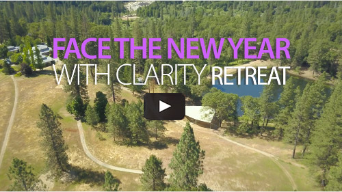 Face the New Year with Clarity video with Vahini at The Expanding Light Retreat