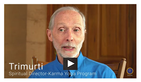 trimurti introduces the karma yoga ashram -video