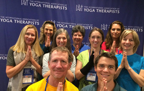 Yoga Therapy Teachers and students